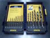 IRWIN TOOLS 14 PIECE DRILL BIT SET